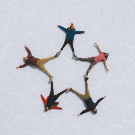 Salar de Uyuni Drone shot