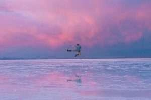 Reflect photo at Salar de Uyuni