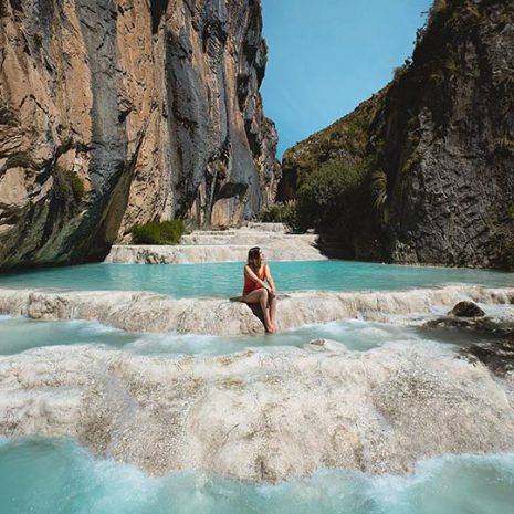 Lagunas cristalinas Ayacucho, Millpu