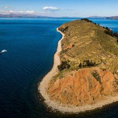 Isla del sol Drone header