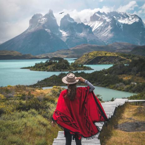 visit south america patagonia torres del paine hike