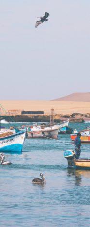 visit south america huacachina boats