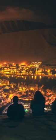visit south america huacachina night oasis