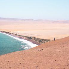 visit south america huacachina red sand beach