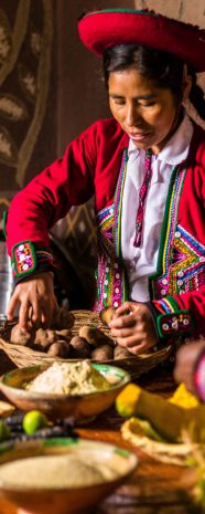 Visit south america Cusco cooking class andean ancestral sacred valley