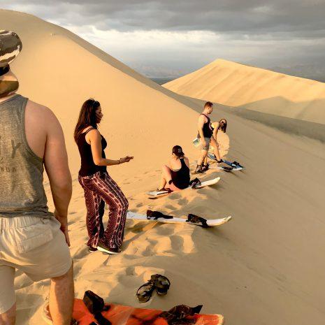 visit south america huacachina sandboarding