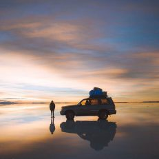 Sunrise from another planet! Salar de Uyuni